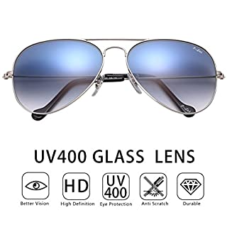 O-Let Aviator Sunglasses Women Men with Gifts Case UV 400 Protection Men's Ladies Fashion Unisex for Outdoor Sport Driving Fishing
