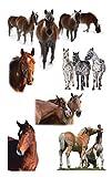 AVERY Zweckform 55973 Kinder Sticker Pferde 18 Aufkleber