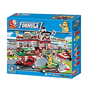 SLUBAN BRICKS, Town Fórmula 1 Gran Premio 457 pzs Juegos de construcción (AJ
