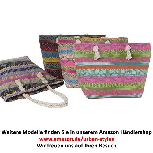 Dondon Ladies Bag, Shopper Per Festival E Beach In Africa Look // Vari Colori Selezionabili Ethno 3