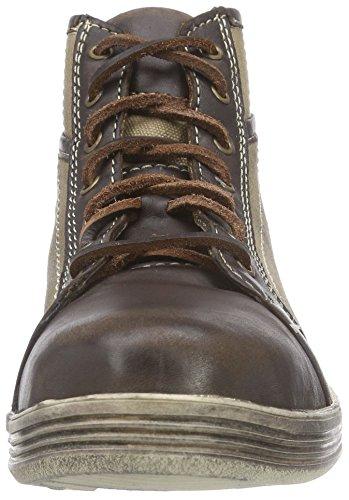 Stockerpoint Sneaker 1295, Herren Hohe Sneakers, Braun (Braun Vintage), 46 EU - 4
