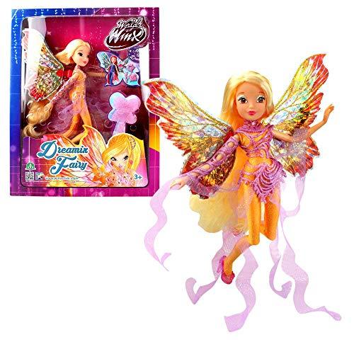 World of Winx - Dreamix Fairy - Hada Stella Muñeca 28cm con...