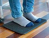 Elektrischer Heizteppich – elektrischer Fußwärmer | Ideal, um ihre Füße an kalten Wintertagen warm zu halten | Sorgt für angenehme und behagliche Wärme - 4