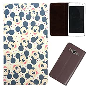 DooDa - For Sony Xperia C4 PU Leather Designer Fashionable Fancy Flip Case Cover Pouch With Smooth Inner Velvet