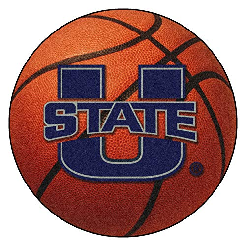 Fanmats 02537 Utah State University Basketball Rug Utah State University