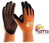 MaxiFlex Endurance 34-848 Foam Micro Dot Palm Nitril Beschichtete Arbeitshandschuhe, 8/M