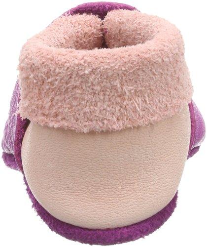 Pololo Kittybell Mädchen Flache Hausschuhe Pink (purpur 202)