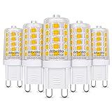 Albrillo 5er Pack 3.5W G9 LED Lampe 350 Lumen