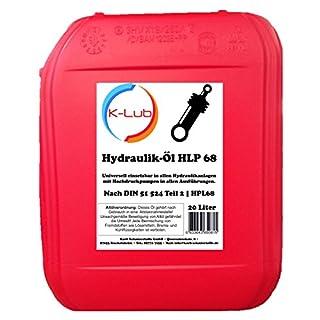 20 Liter K-Lub HLP 68 Hydrauliköl   HLP68 ISO