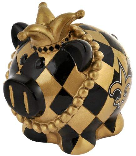 NFL Mini Piggy Bank /Sparschwein/Sparschweinchen NEW ORLEANS SAINTS Football -
