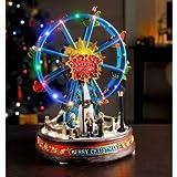 Graceful LED Musical Christmas Ferris Wheel Christmas Decoration