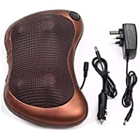 Car&Home Body Massage Pillow neck massager cushion seat stress pain relief relax massage Car or Electronic Massage…