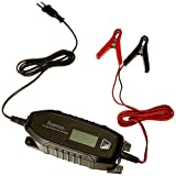 Hama Automatik Batterie-Ladegerät für Auto, Boot, Motorrad, 6V/12V/4A (230V, für AGM-/Li-Ion-/Blei-Säure-/Nass-/Gel-Batterien, Erhaltungsladung, auch bei Tiefentladung geeignet) Autobatterie-Ladegerät