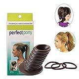 Perfecto Pony volumen Lift herramienta Pony coleta Bouffant crear la perfecta Bun de pelo de poni de peluquería estilo trenzado Holder herramienta Donut pelo BUN Maker para todo tipo de cabello