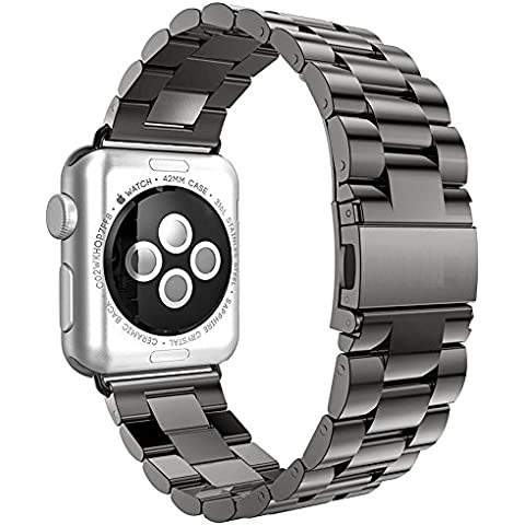 Apple Watch Strap, acciaio inossidabile Replacement Wrist