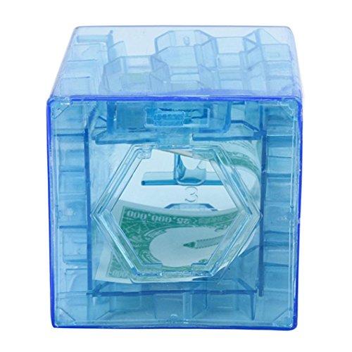 Moneda caja colección caso divertido cerebro juego
