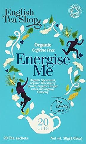 English Tea Shop Organic Energize Me 20