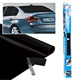 Best Window Tints - Car Window Tint Ultra Dark Black Film 300x50cm Review