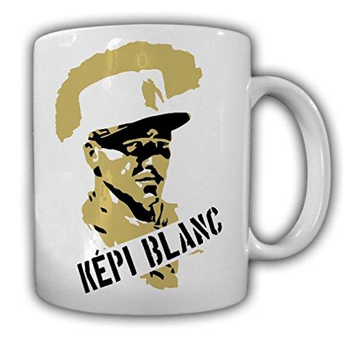 Tasse Kepi Blanc Fremdenlegion Legion Mütze Kappe Veteran #23307