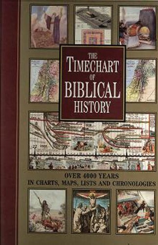 The Timechart of Biblical History: Over 4000 Years in Charts, Maps, Lists and Chronologies (Timechart series) by Chartwell Books (2009-11-20) par Chartwell Books;