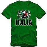 Italien WM 2018#2 T-Shirt | Fußball | Herren | GLI Azzurri | Trikot | Nationalmannschaft, Farbe:Hellgrün (Kelly Green L190);Größe:XL