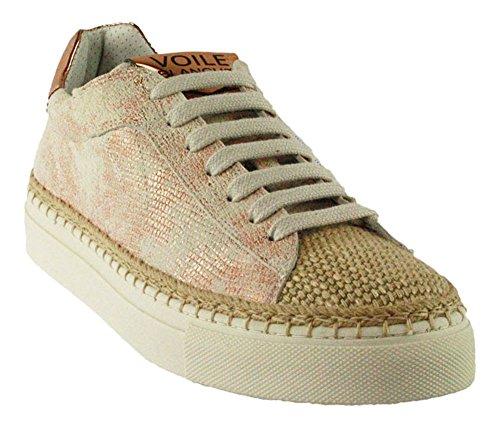 Voile Blanche, Sneaker Mujer Blanco Blanco Rose