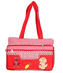 Kuber Industries Mamas Bag, Baby Carrier Bag, Diaper Bag, Travelling Bag (Folding Pattern)