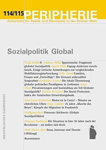 Peripherie, Band 114/115: Sozialpolitik Global