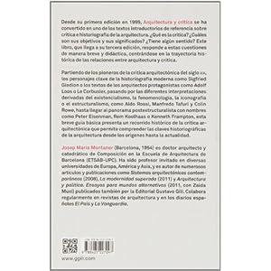 Arquitectura Y Crítica - 3ª Edición