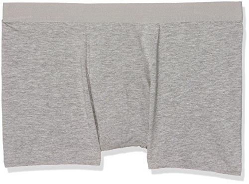 New Look Herren Badehose Three Pack Trunks Grey (Mid Grey)