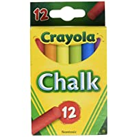 Crayola Colored Chalk - Asstd. Colors - 12 Stick Pack