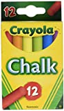 Crayola Colored Chalk - Asstd. Colors - 12 Stick Pack