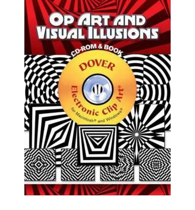 Op Art and Visual Illusions (Dover Electronic Clip Art) (Mixed media product) - Common