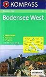 Bodensee West: Wandern / Rad. Mit Panorama. GPS-genau. 1:50.000