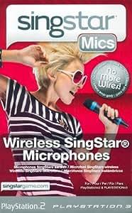 Sony Playstation - microphones sans fil pour Singstar - Pack de 2
