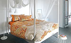 bassetti bettw sche filicudi orange 155x220 bettlaken 90x200 1 kissen 45x110. Black Bedroom Furniture Sets. Home Design Ideas