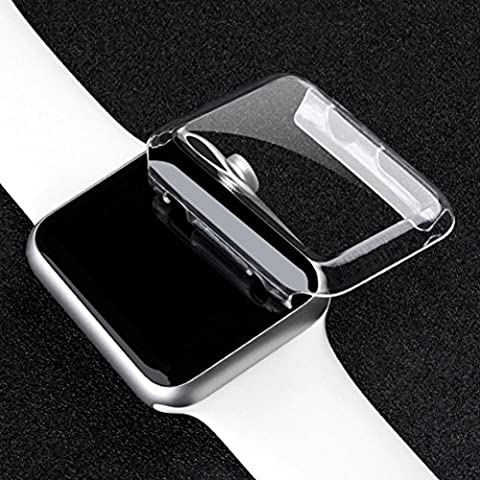 Ouneed® pour 38mm Apple Watch Series 2 Accessoires Etui Transparent (Transparent)