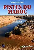 Pistes du Maroc à travers l'histoire : Tome 4, L'Oriental, de la Méditerranée à Figuig (Guide J. Gandini)