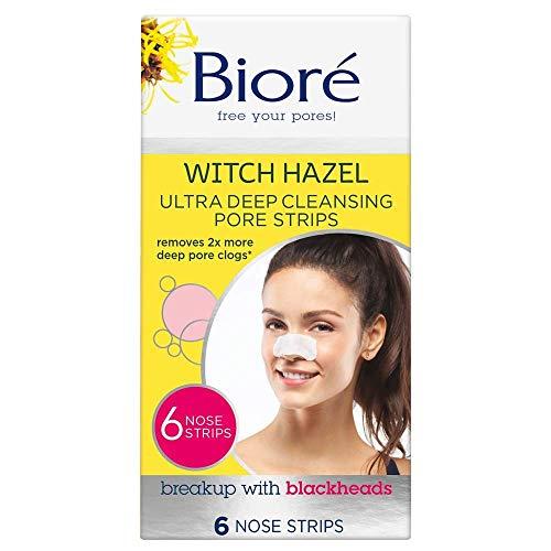 Biore Ultra Deep Cleansing Pore Strips 6 Pc (Gesichtsseife) -