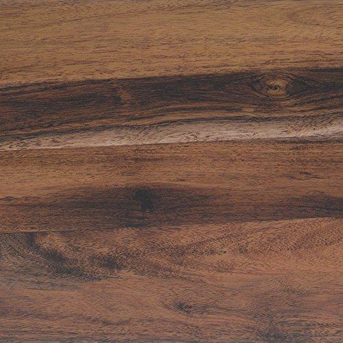 Klebefolie Perfect Fix® Eiche Rustikal Dekofolie Möbelfolie Tapeten selbstklebende Folie, PVC, ohne Phthalate, keine Luftblasen, Natur-Holzoptik braun, 90cm x 2,1m, Stärke: 0,15 mm, Venilia 54308