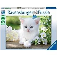 Ravensburger Italy 16243 -  Gattino Bianco Puzzle, 1500 Pezzi