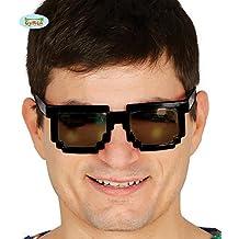 Gafas Pixeladas negras