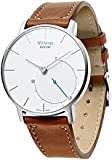 Aresh Withings Activité Nokia Withings Steel HR 36mm Accessory Band,18mm Width Quick Release Genuine Leather Nokia Strap for Withings Activité, Activité Pop, Activité Steel or Withings Steel HR 36mm (Brown)