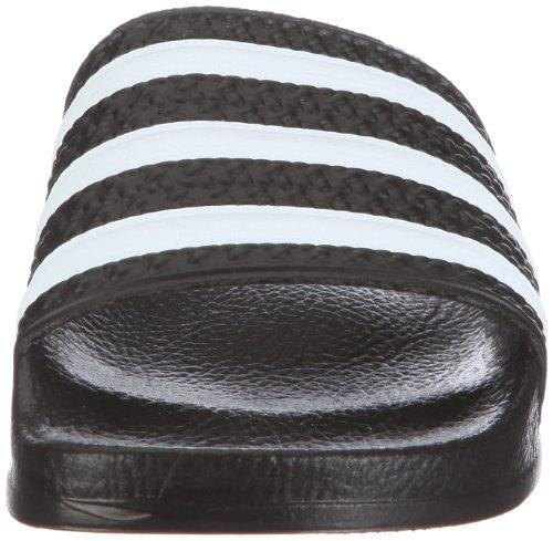 adidas Originals ADILETTE LADY 072329, Sandales femme noir/blanc