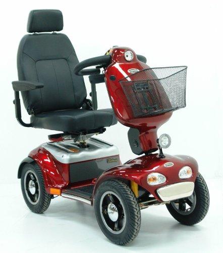 Elektromobil Shoprider® TE 889 SLBF Pellworm (15 km/h) Rot