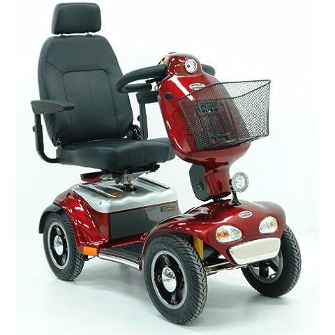 Elektro Mobil shop Rider TE 889 SLBF Pell Worm (15 km/h) rosso