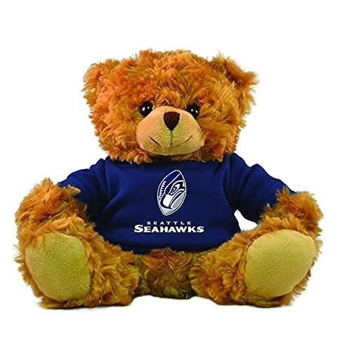 NFL Seattle Seahawks Rally Men Hoodie Bear, 9-inch, Blue