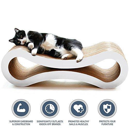*PetFusion Ultimate Cat Kratzbaum LOUNGE [Superior Karton und Bau, deutlich zufolge überdauert Billigere Alternativen]*
