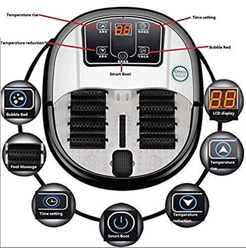 LG-ZWHLZ Automatische Heizung Fußbad SPA Badmassagegerät Home Fußbad Fußpflege Magnetfußmassagebad - Lg Spa