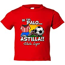 Camiseta niño de tal palo tal astilla Lugo fútbol